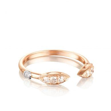 SR200P Ivy Lane Rose Gold Diamond Stackable Ring for Women