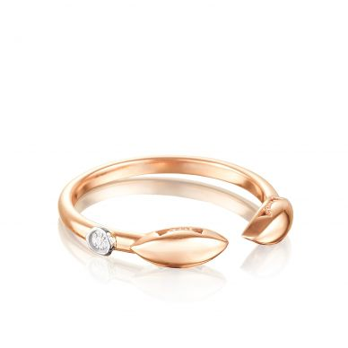 SR201P Ivy Lane Rose Gold  Stackable Ring for Women