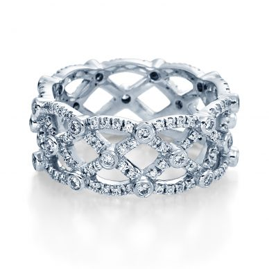 Verragio Eterna 4022 White Gold Wedding Ring