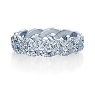 Verragio Eterna 4023 White Gold Wedding Ring