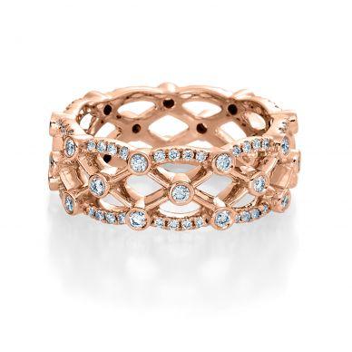 Verragio Eterna 4026R Rose Gold Wedding Ring