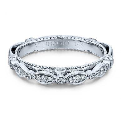 Verragio Parisian 100W White Gold Wedding Ring