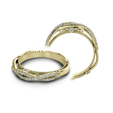 Verragio Parisian 106W Yellow Gold Wedding Ring