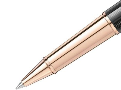 111532 Meisterstuck #163 Solitaire 90 Years Classique Red Gold-tone Rollerball Pen