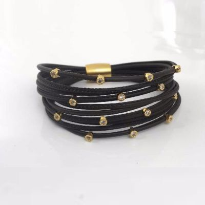 Henderson Collection Luca Leather Bracelet LBB2687-2-Y