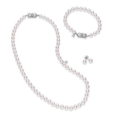 Mikimoto Gift Set of Pearls