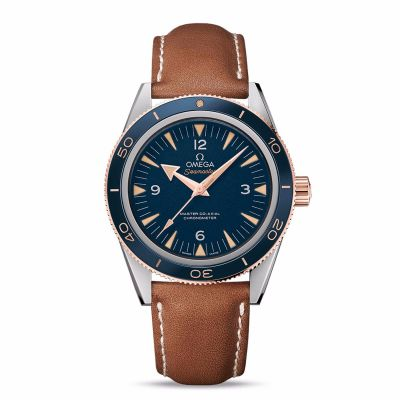 Omega 233.62.41.21.03.001 Seamaster 300 with Sedna gold watch
