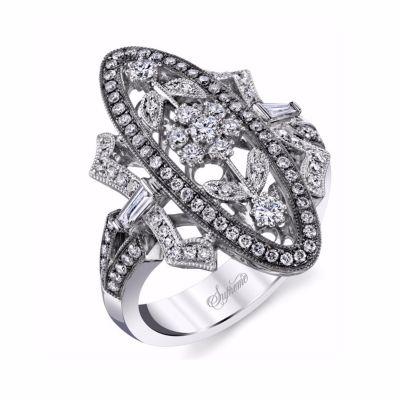Supreme Jewelry Vintage Style Diamond Ring SJU2433R