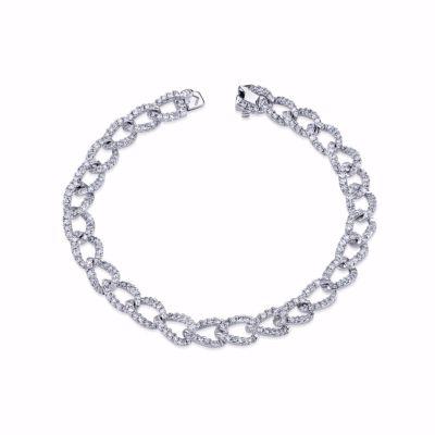 diamond link bracelet SJU806B
