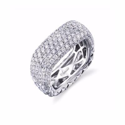 Diamond Multirow Wedding Band SJU1494R