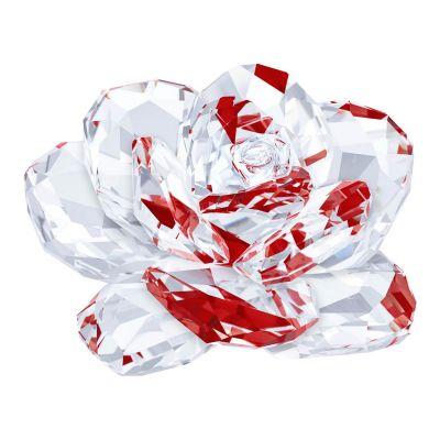 Swarvoski red rose crystal decoration