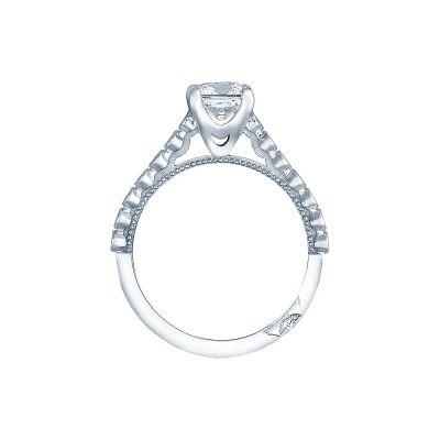 Tacori 200-2PR White Gold Princess Cut Engagement Ring side