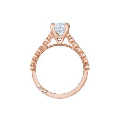 Tacori 200-2RD65-PK Rose Gold Round Engagement Ring side