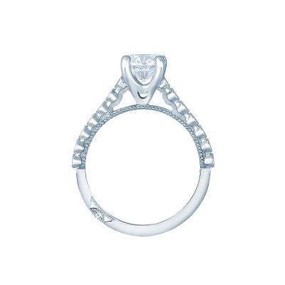 Tacori 200-2RD65 Platinum Round Engagement Ring side