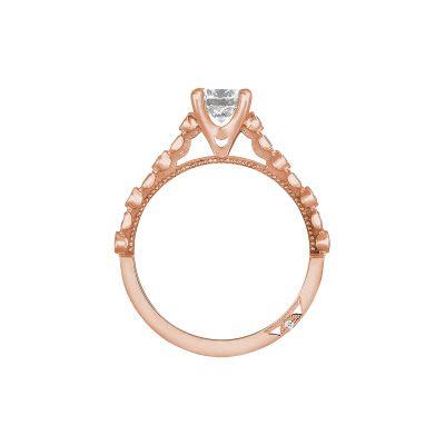Tacori 201-2RD5PK Rose Gold Round Engagement Ring side