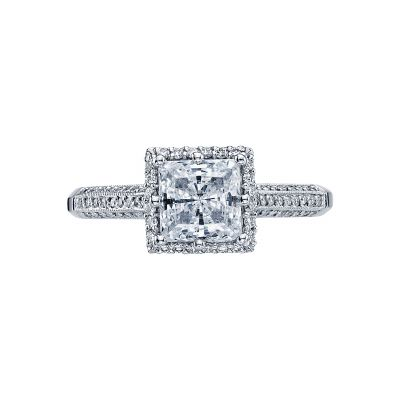 Tacori 2502PRP6 Simply Tacori Platinum Princess Cut Engagement Ring