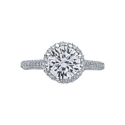 Tacori 2502RDP Simply Tacori White Gold Round Engagement Ring