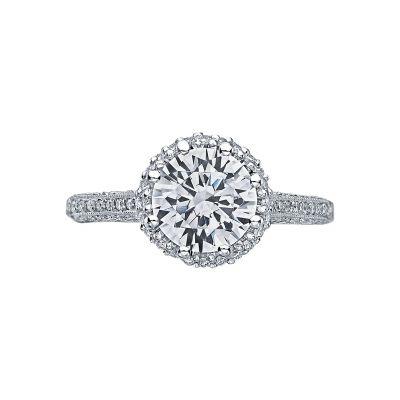 Tacori 2502RDP75 Simply Tacori Platinum Round Engagement Ring