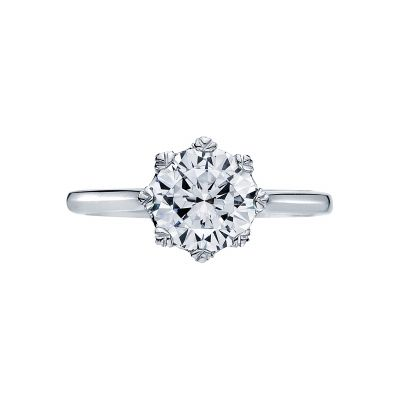 Tacori 2503RD Simply Tacori White Gold Round Engagement Ring