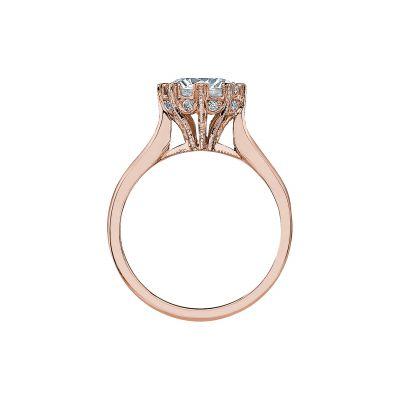Tacori 2503RD75-PK Rose Gold Round Engagement Ring side
