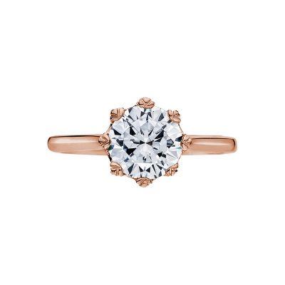 Tacori 2503RD75-PK Simply Tacori Rose Gold Round Engagement Ring