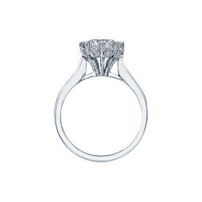 Tacori 2503RD75 Platinum Round Engagement Ring side