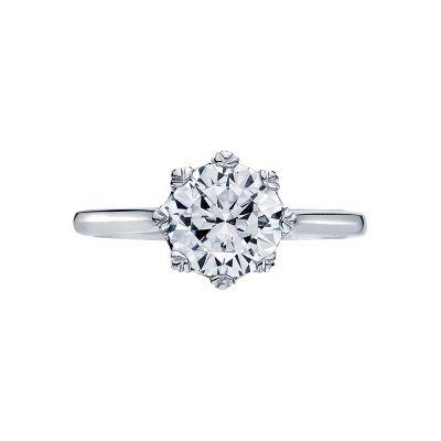 Tacori 2503RD75 Simply Tacori Platinum Round Engagement Ring