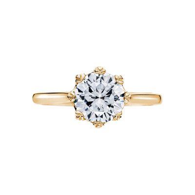 Tacori 2503RD75-Y Simply Tacori Yellow Gold Round Engagement Ring