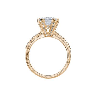 Tacori 2507RD8-Y Yellow Gold Round Engagement Ring side