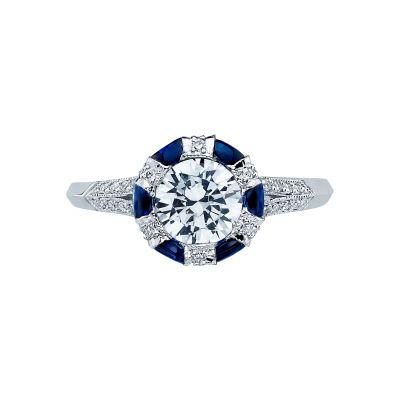 Tacori 2518RD65 Simply Tacori Platinum Round Engagement Ring
