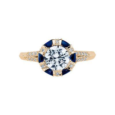 Tacori 2518RD65-Y Simply Tacori Yellow Gold Round Engagement Ring