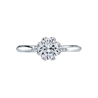 Tacori 2535RD Simply Tacori White Gold Round Engagement Ring