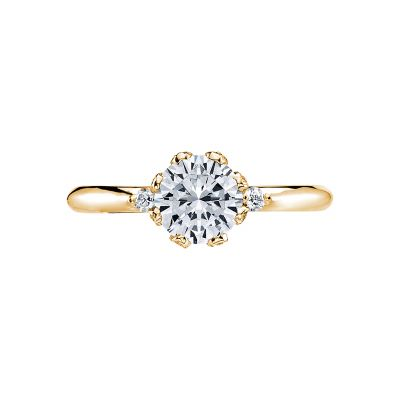 Tacori 2535RD65-Y Simply Tacori Yellow Gold Round Engagement Ring