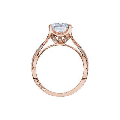 Tacori 2565MDRD75PK Rose Gold Round Engagement Ring side