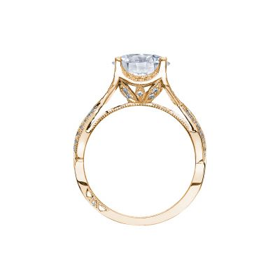 Tacori 2565RD9-Y Yellow Gold Round Engagement Ring side