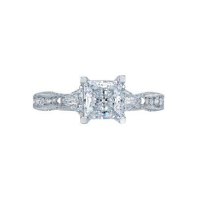 Tacori 2569PR Simply Tacori White Gold Princess Cut Engagement Ring