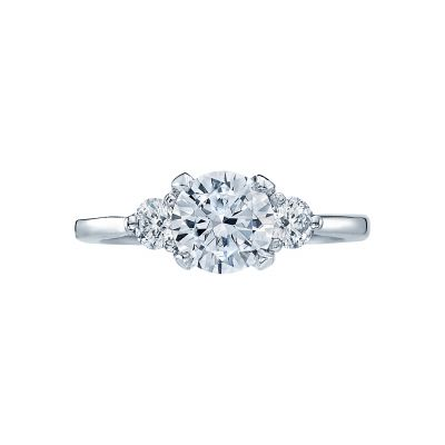 Tacori 2571RD Simply Tacori White Gold Round Engagement Ring