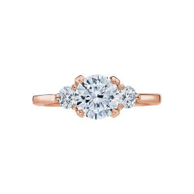 Tacori 2571RD7-PK Simply Tacori Rose Gold Round Engagement Ring