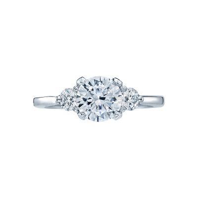 Tacori 2571RD7 Simply Tacori Platinum Round Engagement Ring