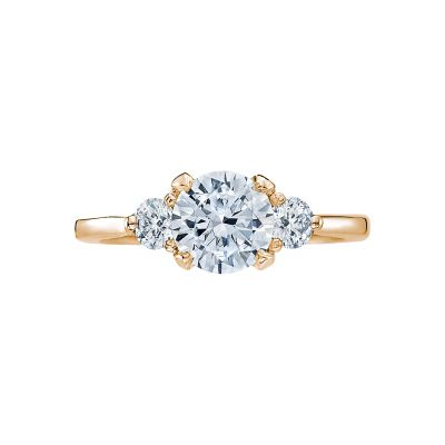 Tacori 2571RD7-Y Simply Tacori Yellow Gold Round Engagement Ring