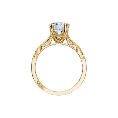 Tacori 2573MDRD75-Y Yellow Gold Round Engagement Ring side
