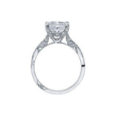 Tacori 2573PR7 Platinum Princess Cut Engagement Ring side