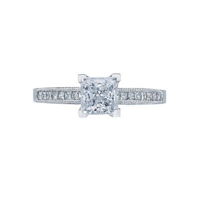 Tacori 2576PR Simply Tacori White Gold Princess Cut Engagement Ring