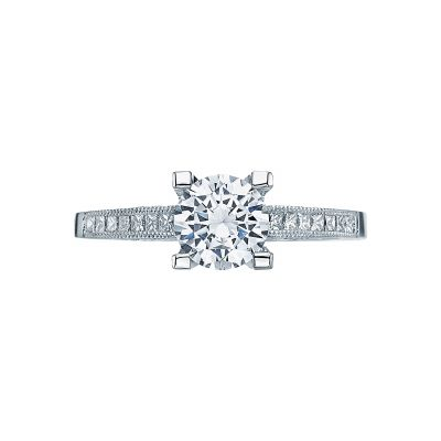 Tacori 2576RD Simply Tacori White Gold Round Engagement Ring