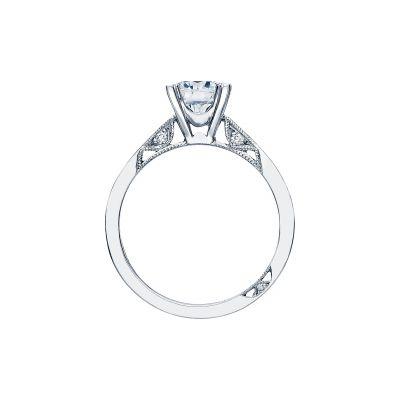 Tacori 2584RD65 Platinum Round Engagement Ring side