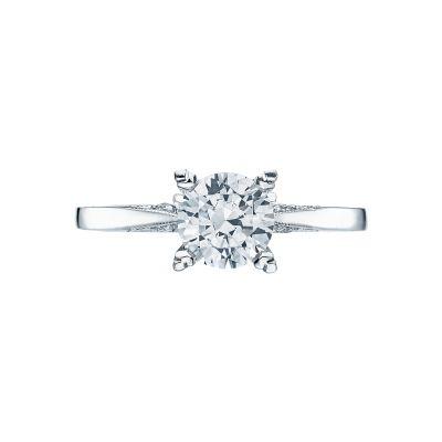 Tacori 2584RD65 Simply Tacori Platinum Round Engagement Ring
