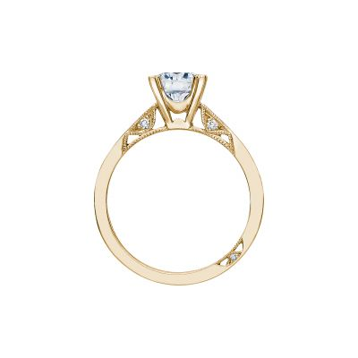 Tacori 2584RD65-Y Yellow Gold Round Engagement Ring side