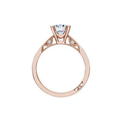 Tacori 2584RD65PK Rose Gold Round Engagement Ring side