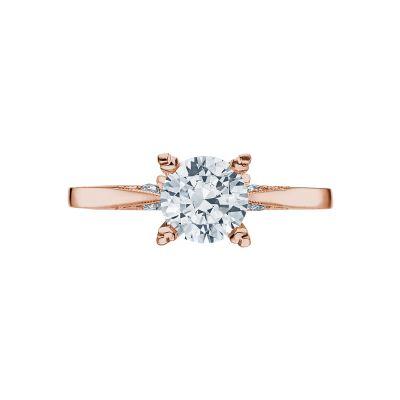 Tacori 2584RD65PK Simply Tacori Rose Gold Round Engagement Ring