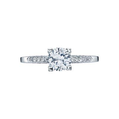 Tacori 2586RD Simply Tacori White Gold Round Engagement Ring